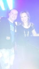 Con DJ Candy Cox, 13/04/14 presso Club Rodenburg (NL)